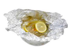 白身魚のホイル包み