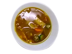 とうがんのカレースープ